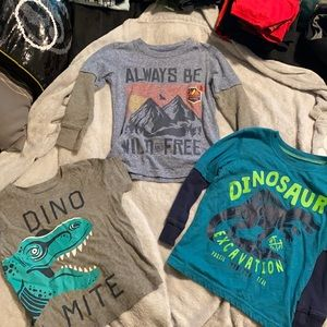 Jumping Beans Size 4T about Shirt Bundle